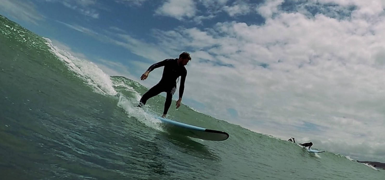 About UP Surf Coaching, a surf school in Raglan, New Zealand.