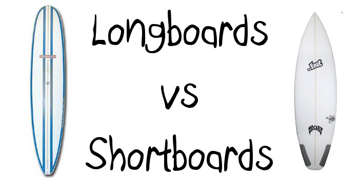 Surfing Longboards vs Shortboards