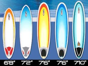 "NSP ""next-step"" surfboards"