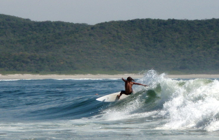 Training for surfing - layback