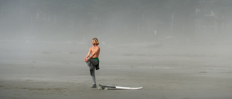 Training for Surfing, a guide for the average surfer.