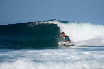 Indonesia surf spot for intermediates.