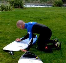 Review for christchurch surf camp.