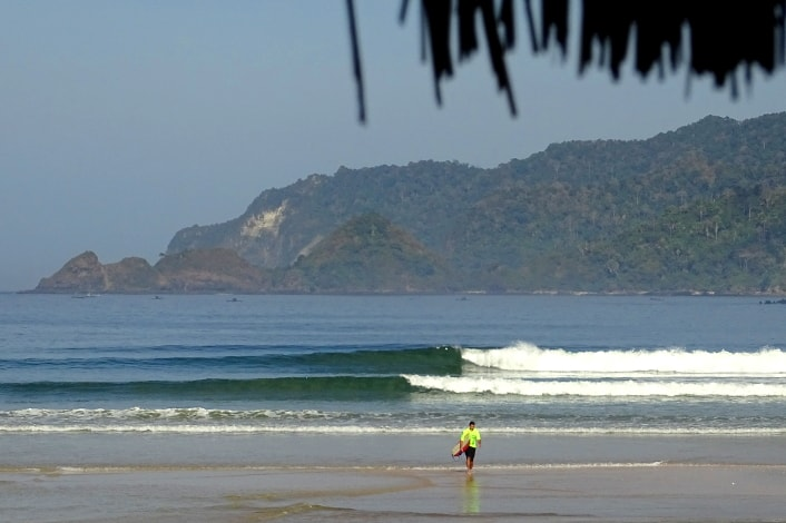Surf coaching holidays for kiwi surfers.