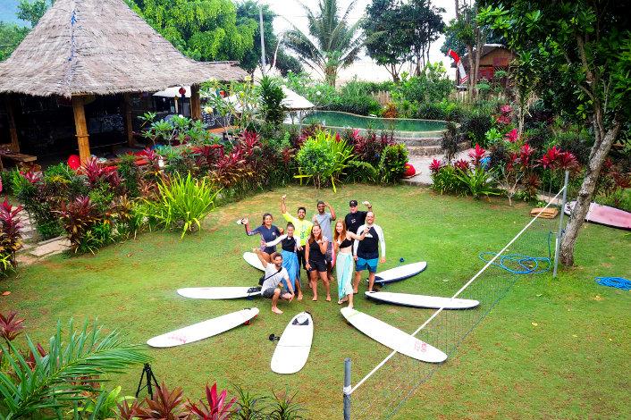 Beginner and Novice surf trip
