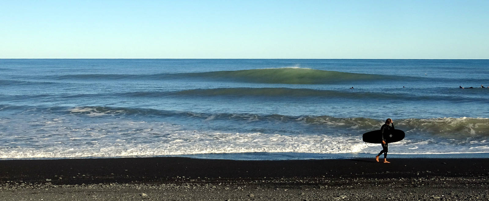 New Zealand surf trips with coaching.