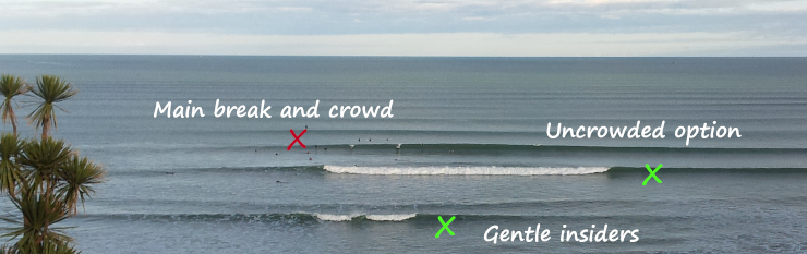 Tips on surfing Auckland beaches.